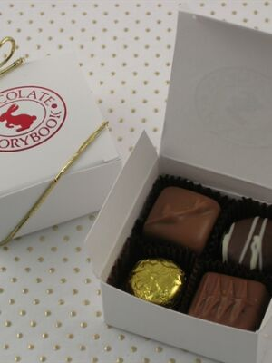 Chocolate Assortment 4 pc Box