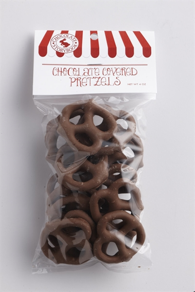 Milk Chocolate Pretzel Twists 4 oz
