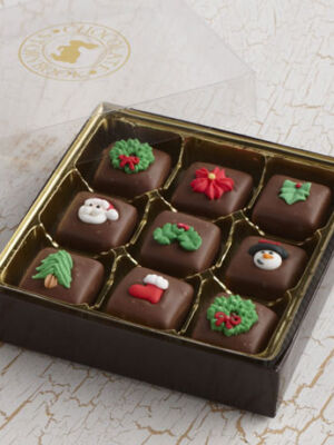 Holiday Chocolate Caramels