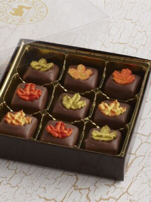 Fall Chocolate Caramels