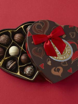 Truffles Heart Box