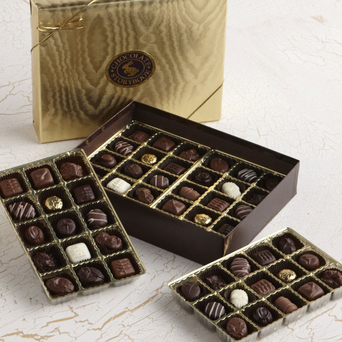 Gold Wrapped Chocolate Assortment
