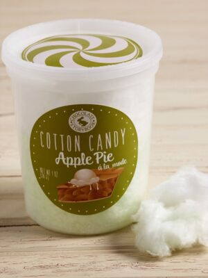 Apple Pie a la Mode Cotton Candy