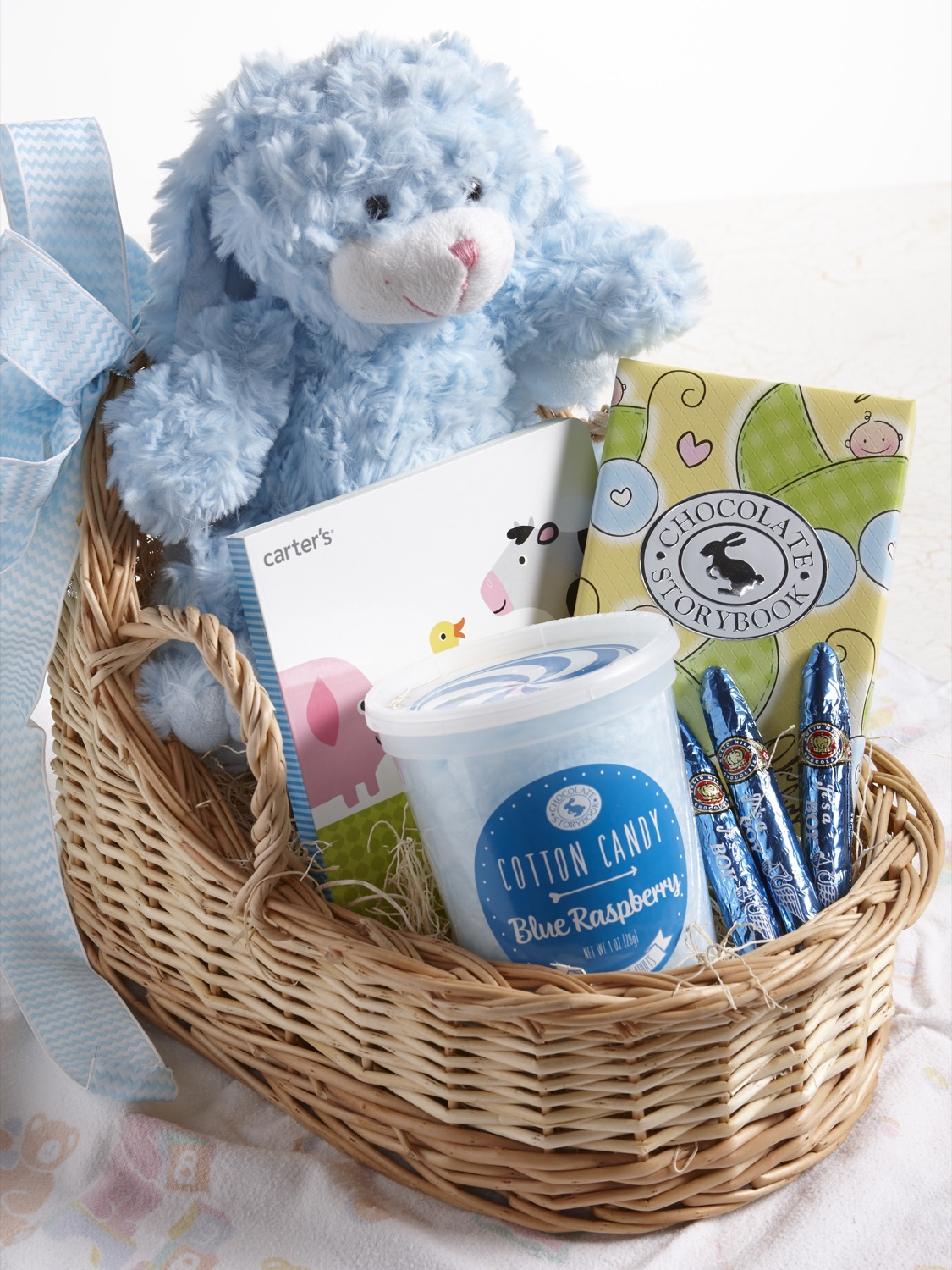 Baby Congratulations Gift Basket | Custom, Handmade Chocolates ...
