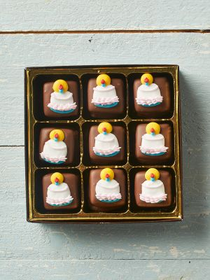 Birthday Chocolate Caramels
