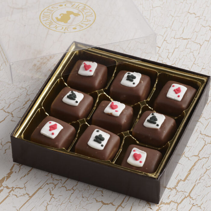 Playing Card Caramels
