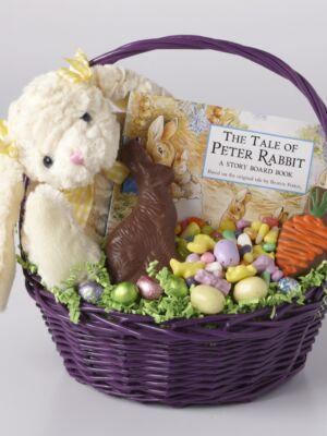 Bunny & Book Basket