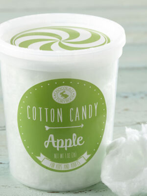 Apple Cotton Candy