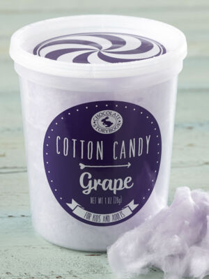Grape Cotton Candy