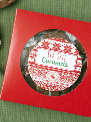 Sea Salt Caramels Holiday Box