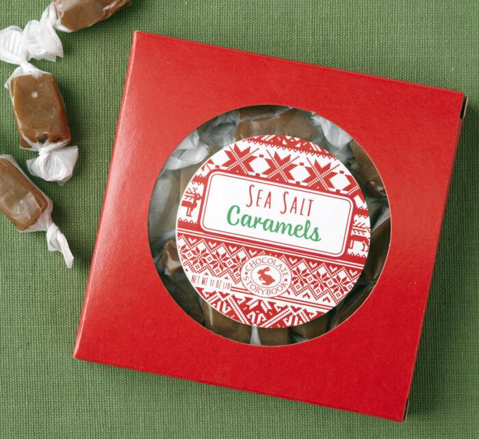 Sea Salt Caramels Holiday Box