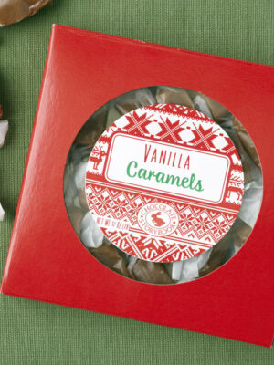 Vanilla Caramels Holiday Box