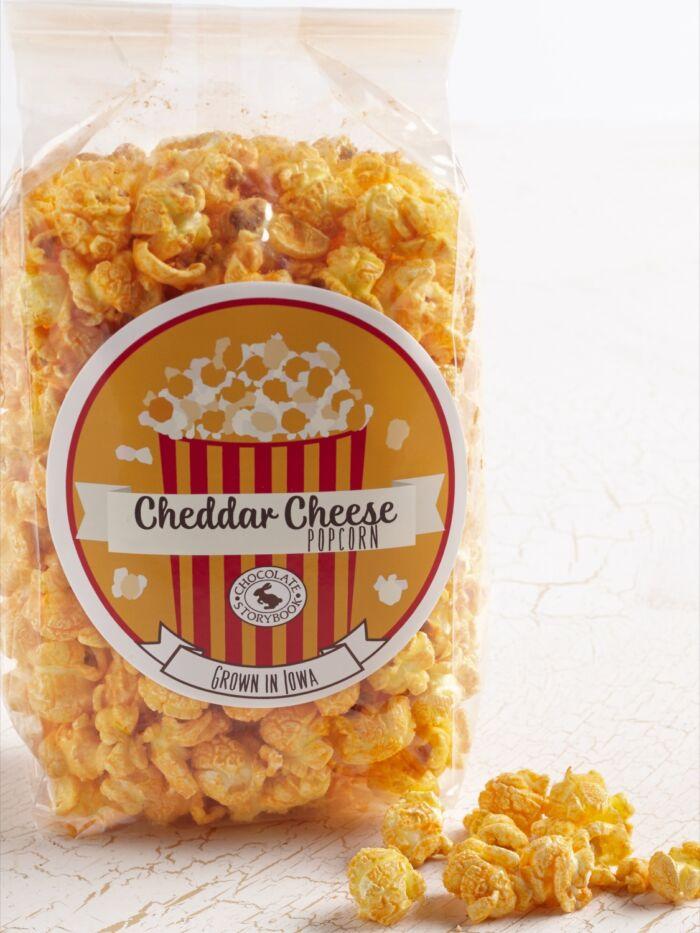 Cheddar Cheese Popcorn Bag