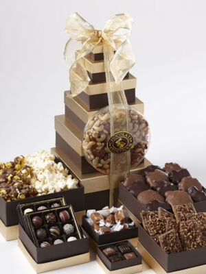 Chocolate Celebration Tower