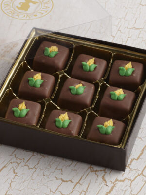 Sweet Corn Chocolate Caramels