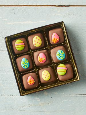 Easter Chocolate Caramels