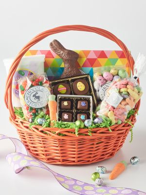 Chocolate Easter Basket for Family