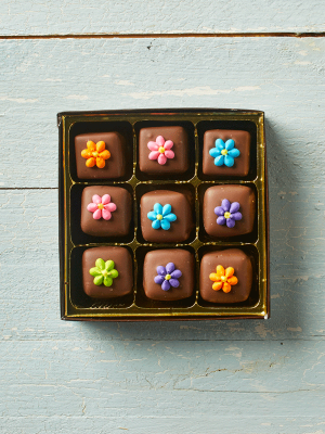 Flower Caramels Chocolate Gift