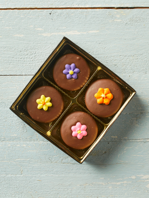Flower chocolate cookies oreos gift