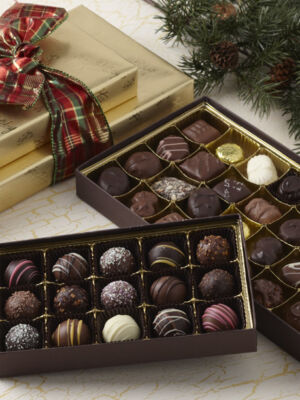 Gold Tidings Chocolate Assortment