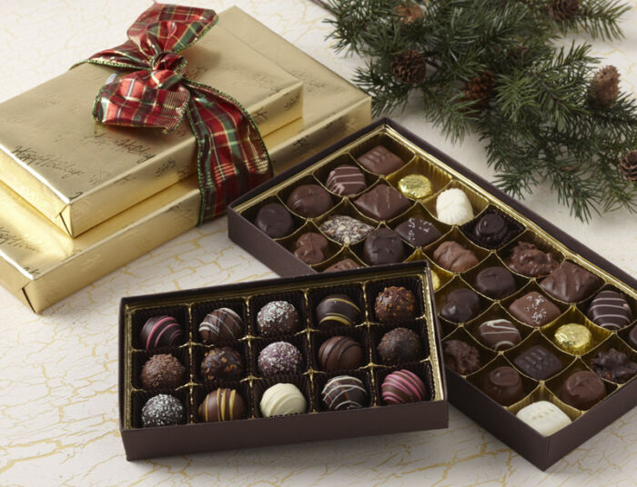 Gold Tidings Chocolate Assortment