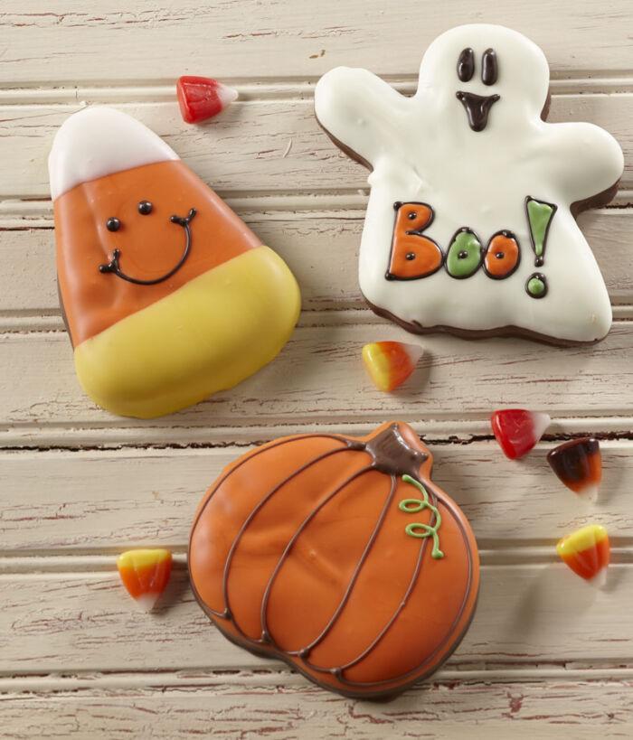 Halloween Caramel Cut-outs