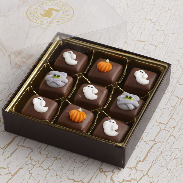 Halloween Chocolate Caramels