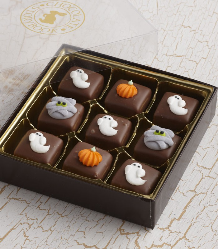 Halloween Chocolate Caramels 1