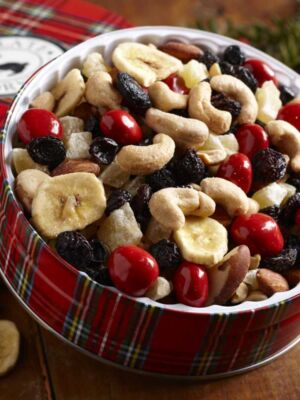 Happy Trails Trail Mix Gift Tin