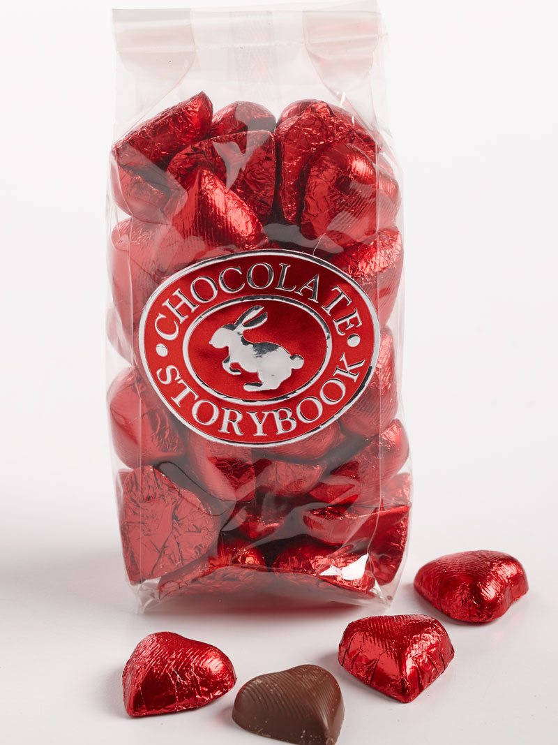 Foiled Chocolate Hearts Home Holidays Valentine S Day