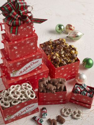 Holiday Snacks Tower