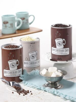 Hot Chocolate Tins