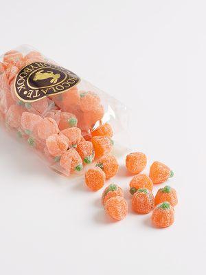 bag of gummy pumpkins