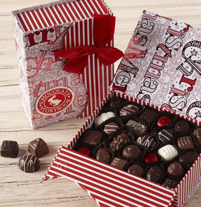 Merry Christmas Chocolate Book Box