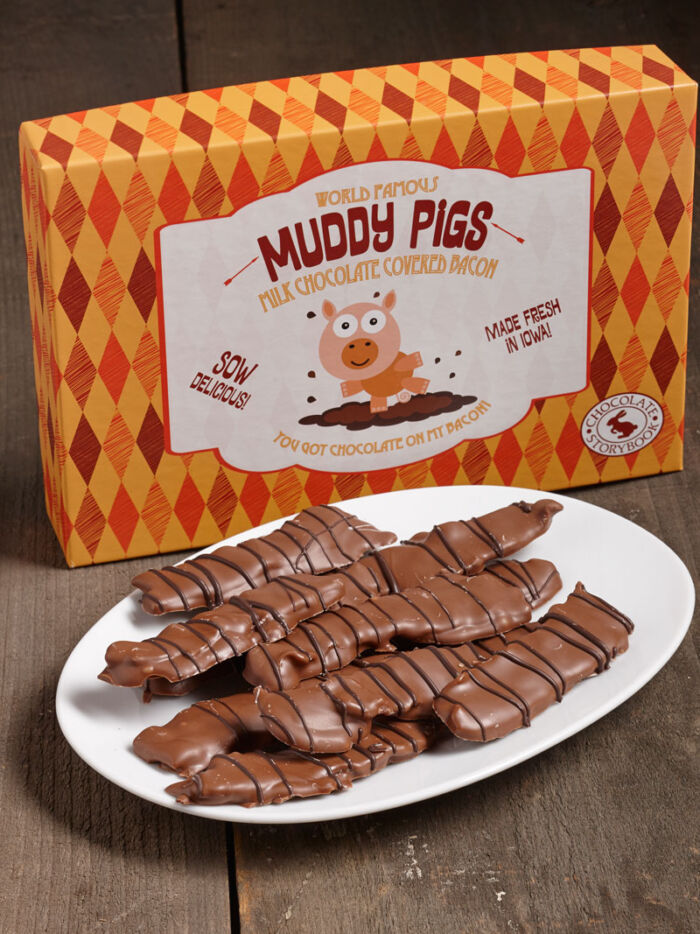 Muddy Pigs Chocolate-Covered Bacon