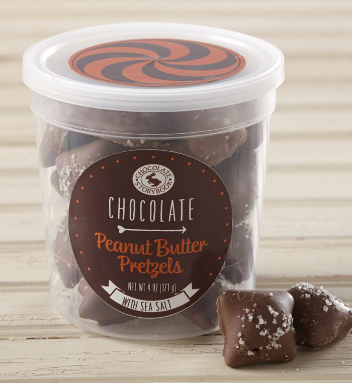 Chocolate Peanut Butter Pretzels