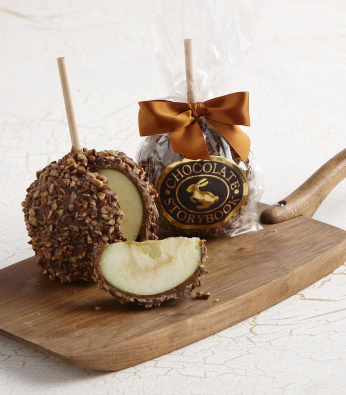 Chocolate Caramel Apple Pecan 1