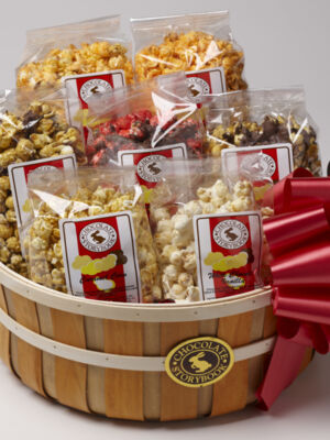 Popcorn Sampler Basket