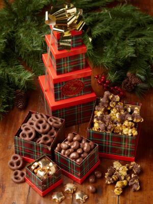 gift towers custom handmade chocolates gifts by chocolate