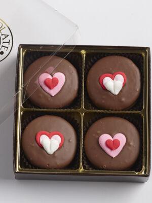 Valentine Sandwich Cookies
