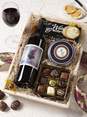 Red Wine & Chococlate Gift Box
