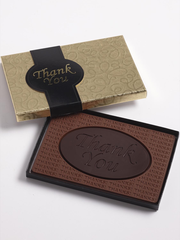 Thank You Chocolate Bar, Gold Gift Box   Custom, Handmade ...