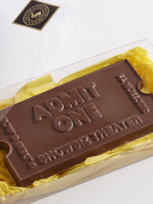 Theatre Ticket Large Chocolate Mold