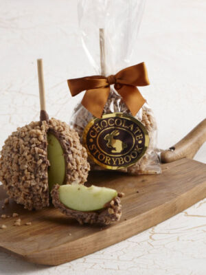 Chocolate Caramel Apple Toffee