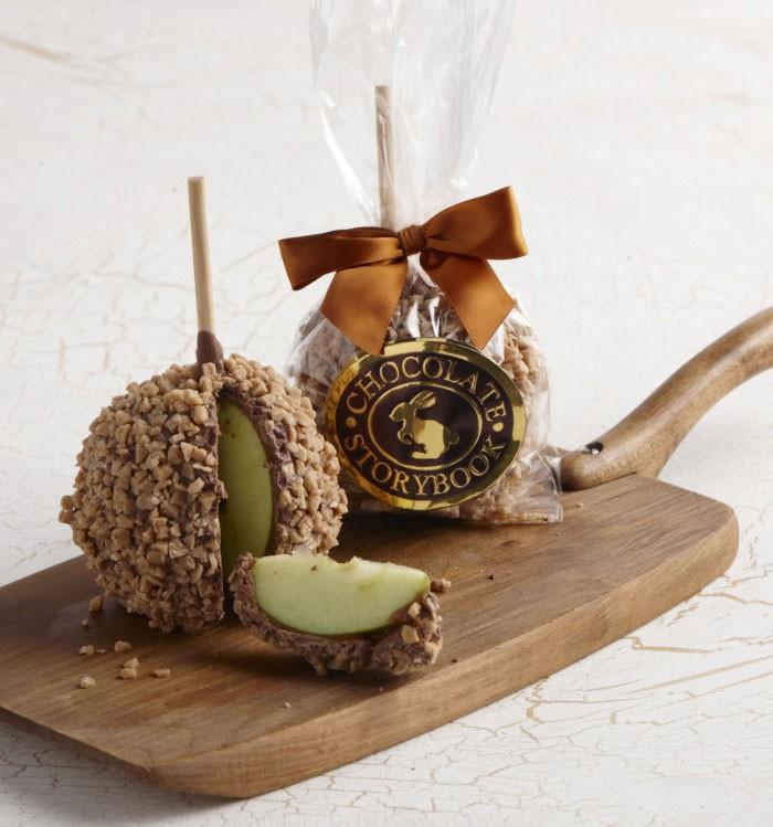 Chocolate Caramel Apple Toffee