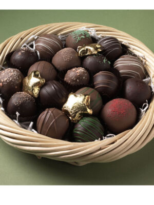 Chocolate Truffles Basket