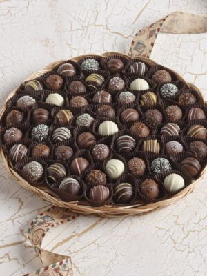 Chocolate Truffle Tray