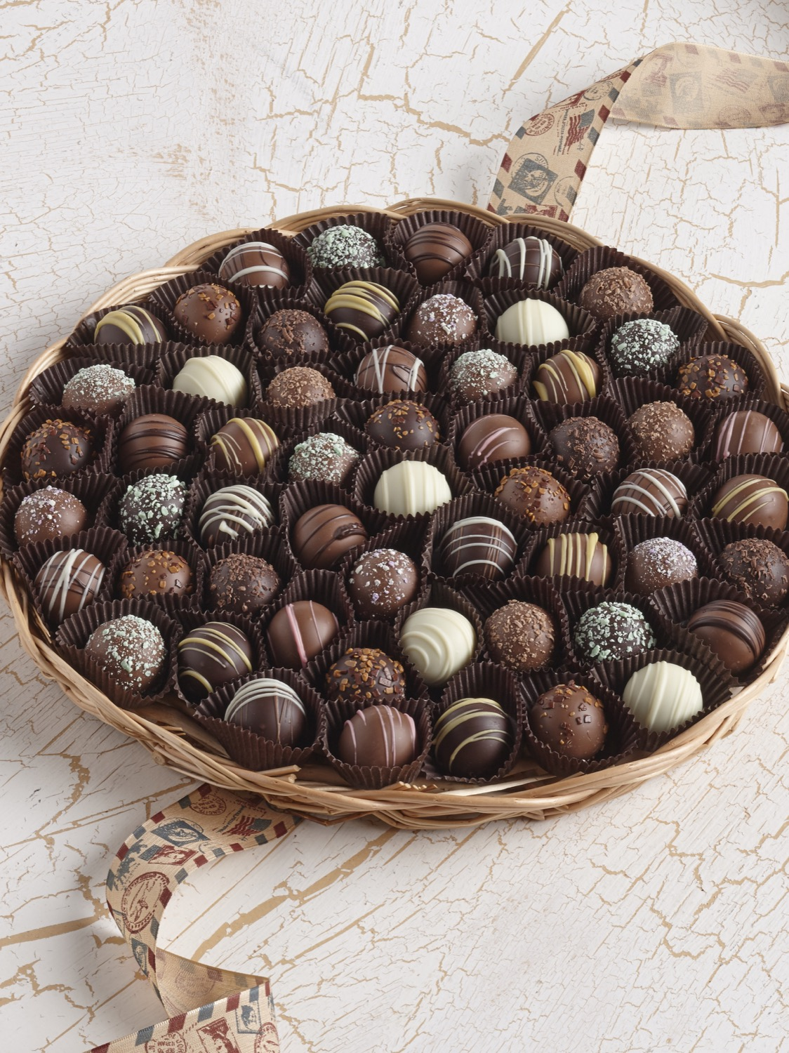 Chocolate Truffle Tray | Custom, Handmade Chocolates & Gifts by ...