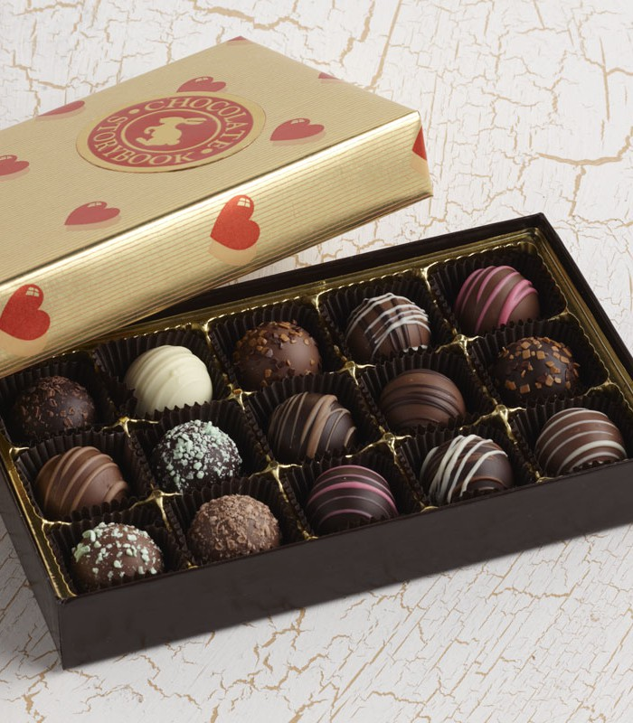 valentine's day truffles box | custom, handmade chocolates & gifts, Ideas