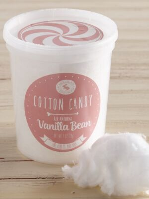 All Natural Vanilla Cotton Candy